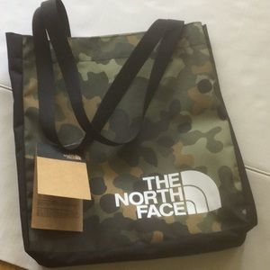 The North Face camouflage Tote Bag